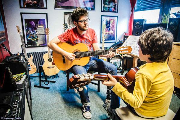 Gitarrenunterricht bei Guitarr Secrets