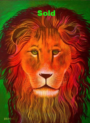 The Green Lion/ Sold