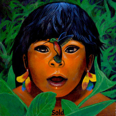 The Amazonian Child/ $3,000/ sold