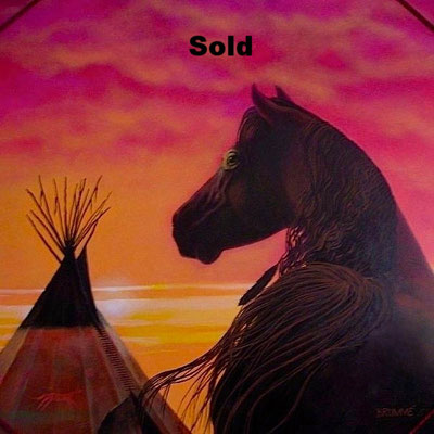 The War Horse/ $4,000/ sold