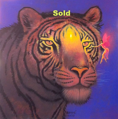 The Tiger and the Sprite/ sold