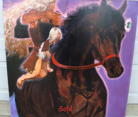 The Rider and the Archer/ Sold