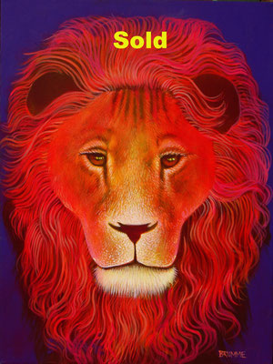 The Purple Lion/ Sold