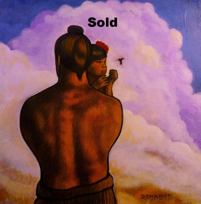 The Hawaiian Child and Father/ sold