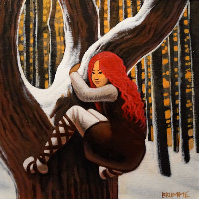 Tree Climber/Water Dancer Painting/$1,500