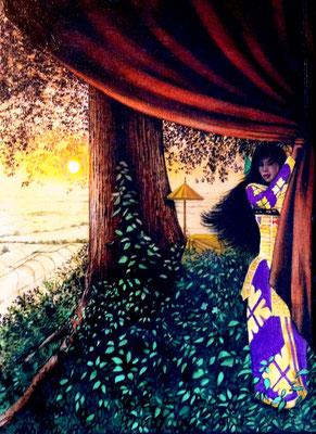 Sunrise / 15 x 12 / Acrylic on Canvas / $2,500