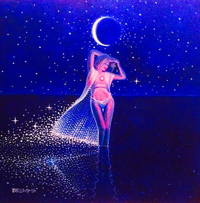 The Moon Goddess/ Sold