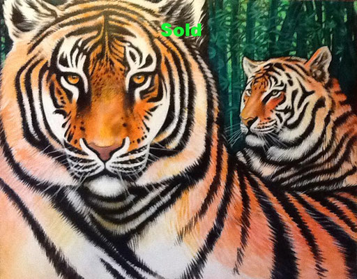 Two Tigers in Panama, $6,000/ sold
