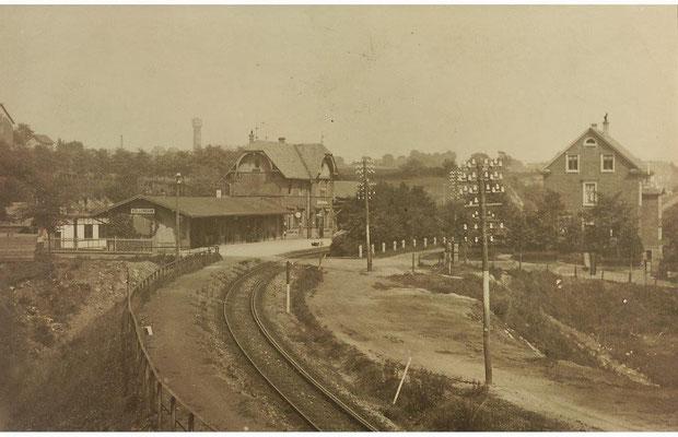 Bahnhof Einfahrt v. Burgholz
