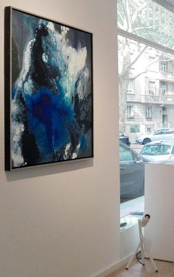 """Ausstellungsansicht """"Agua"""""""