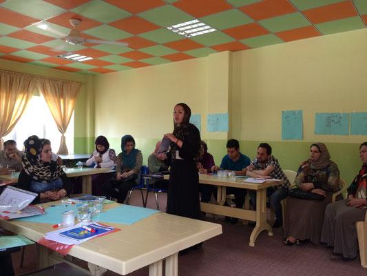 Formation d'instituteurs et travailleurs sociaux, Chamchamal, Irak