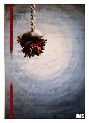 """""""Es ist so still... """"- Jan-Malte Strijek - Acryl-Mischtechnik auf Leinwand - 70 x 100 cm - 2007"""