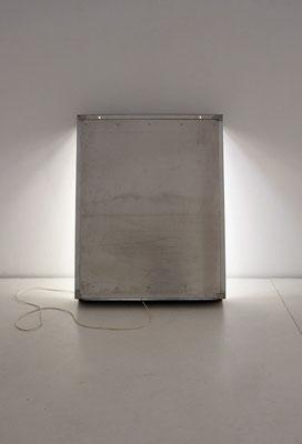 L I G H T B O X, 2015, 123,5 x 97,5 x 18 cm, Aluminium, Elektrik, Leuchtstofflampen