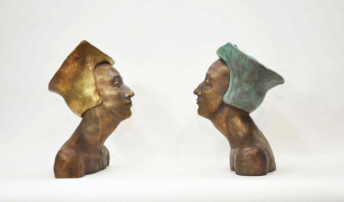 regentinnen | bronze