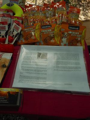 I prodotti della VITAKRAFT che sono stati distribuiti gratuitamente