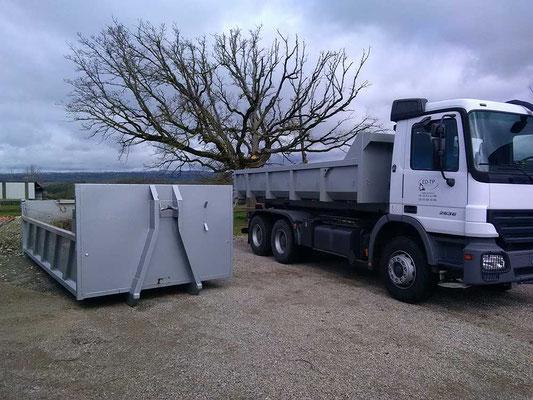 ED-TP camion  benne