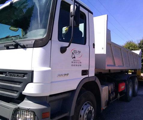 ED-TP camion polybenne