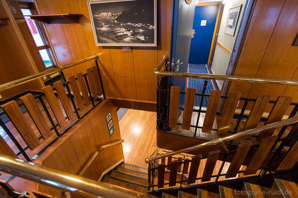 Hinteres Treppenhaus