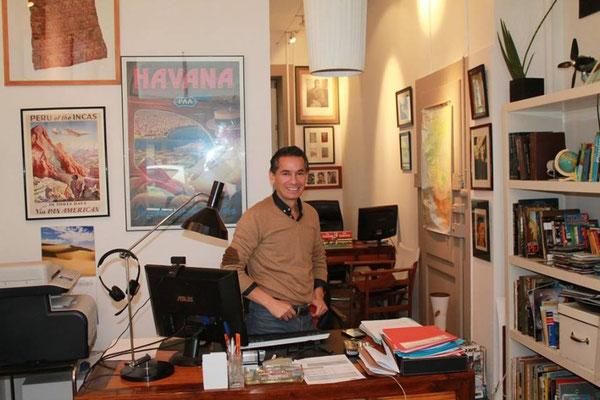 """Luis Felipe Lopez Vasquez: Directeur de """"Les Routes du Monde"""""""