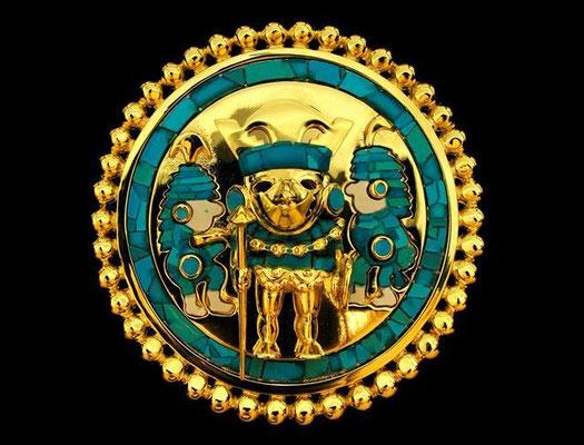 Médaille pré-colombienne