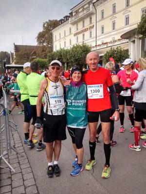 ..die alten Hasen: Hans-Dieter, Karin und Manfred