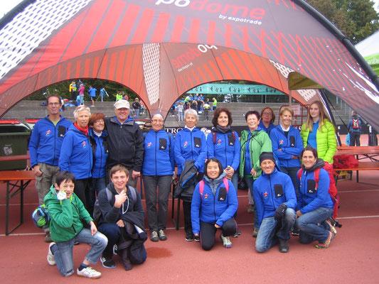 Helfer beim Kindermarathon in Bregenz