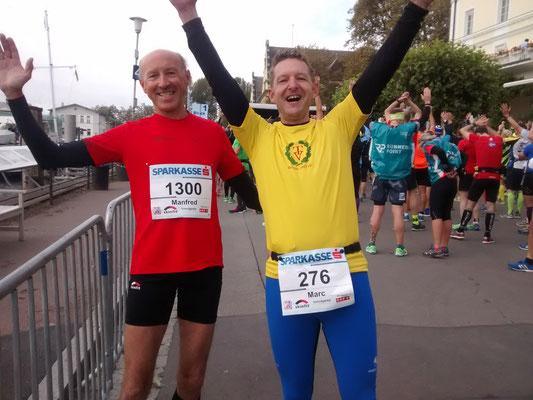 ...und Marathon Neuling Marc