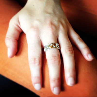Ring in Silber 925