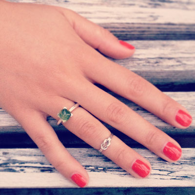 Sonjettis Ring in Silber 925 mit Peridot