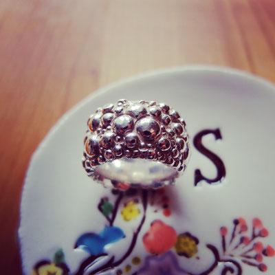 Bubblering in Silber 925
