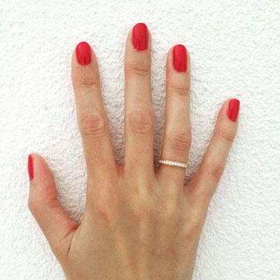 Alliance Ring  in Gelbgold 750 mit 34 Diamanten (0.49ct.)