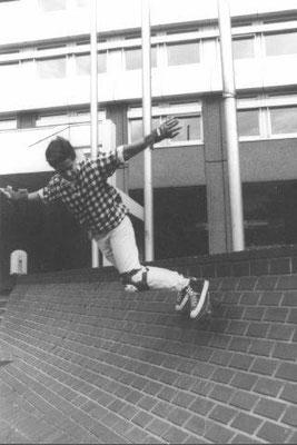 Banks am Kölner Landgericht, Anfang 80er