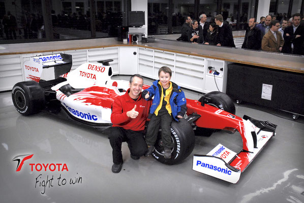 Toyota Motorsport, TF109 Präsentation