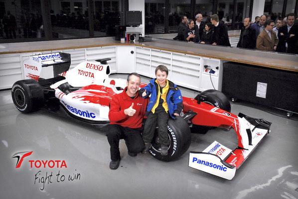 Toyota Motorsport, TF109 Präsentation