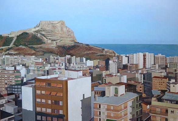 Alicante. Oleo sobre tabla