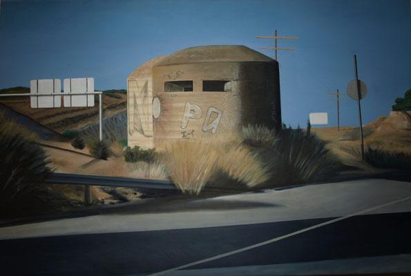 No es un país Oleo sobre lienzo 150 x 100 .Obra seleccionada XXIV Bienal Eusebio Sempere 2012