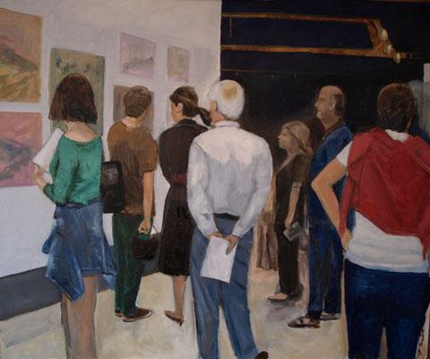 Exposición 78 x 64 Oleo sobre tabla