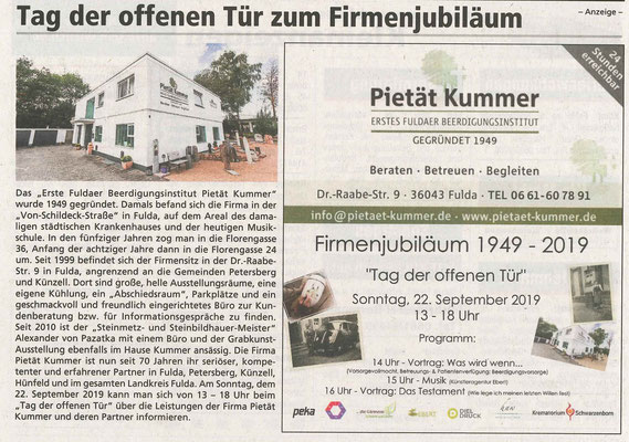Künzeller und Petersberger Gemeindeblättchen