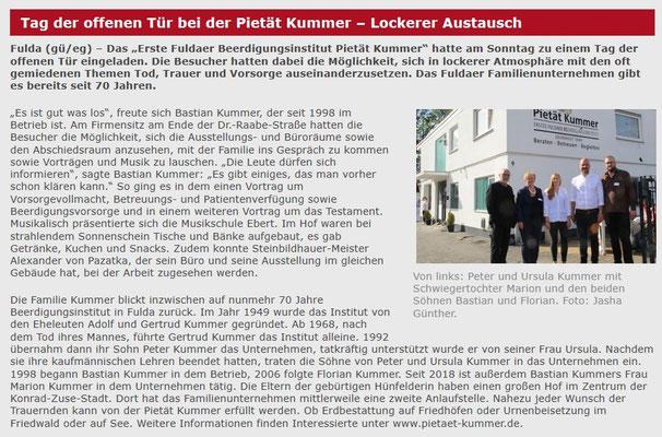 Nachbericht von Osthessen-Zeitung.de