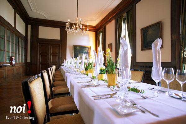 Das Monforts Quartier ist sehr stillvoll eingerichtet. © noi! Event & Catering CmbH & Co. KG