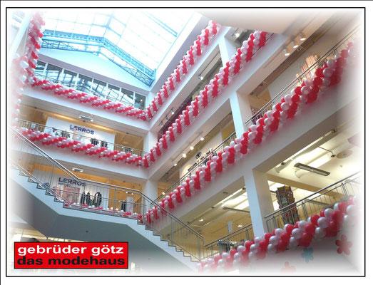 Luftballon Dekoration Girlande Modehaus Gebrüder Götz