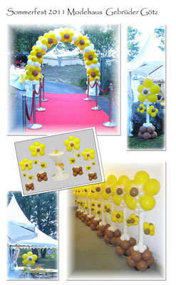 Sommerfest 2011 Modehaus Gebrüder Götz