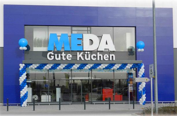 Luftballon Dekoration Girlande Meda Küchen