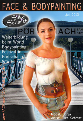 Weiterbildung beim World Bodypainting Festival in Pörtschach am Wörthersee