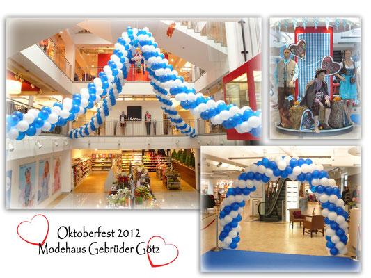 Oktoberfest 2012 Modehaus Gebrüder Götz in Würzburg