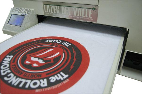 impresión textil sobre algodon