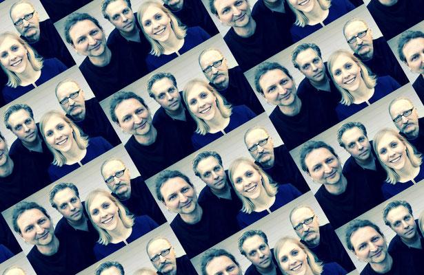Band Projekt D - Gruppenfoto - editiert im Quadrat Look