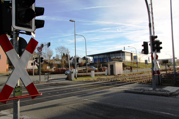 Bahnübergang Foto: Klamt