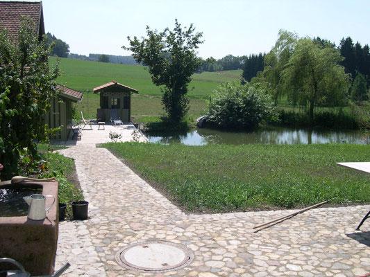 pool by nature schwimmteich naturbad memmingen u deutschland weit anlegen sachverst ndiger. Black Bedroom Furniture Sets. Home Design Ideas
