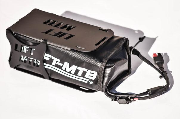 portabatterie per bici elettrica